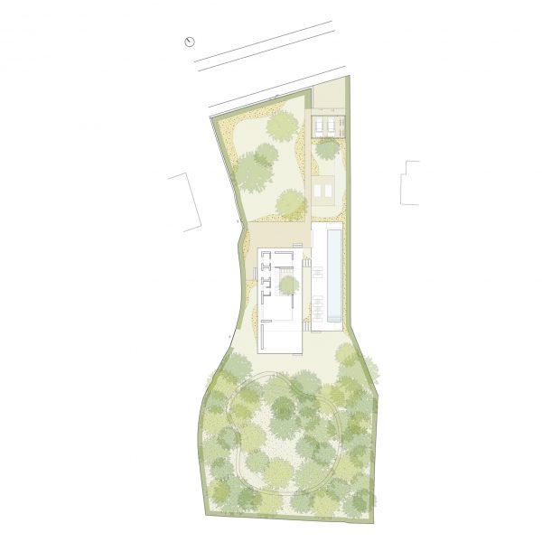 Massa giardino planimetria